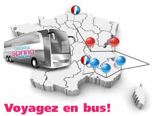 Reservez votre Bus Spring Break